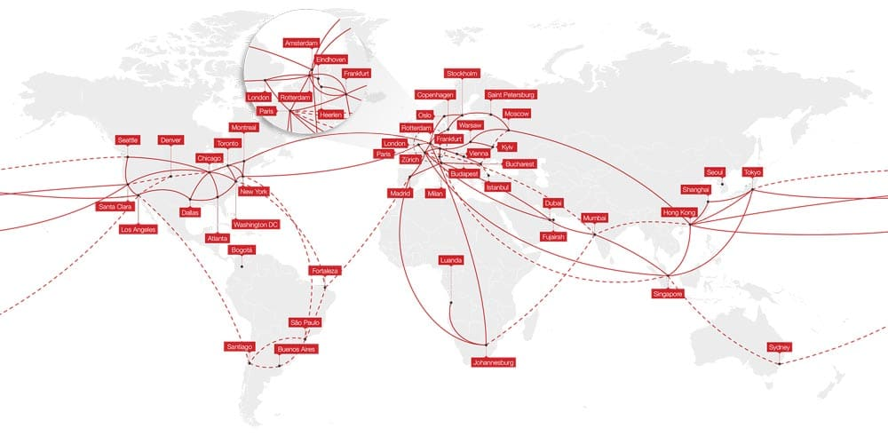 i3D.net global network and locations