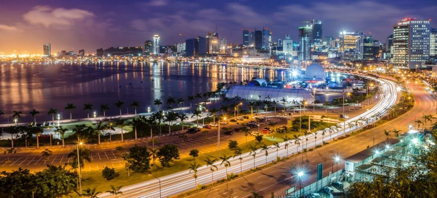 Angonix in Angola, Africa connected with online gaming