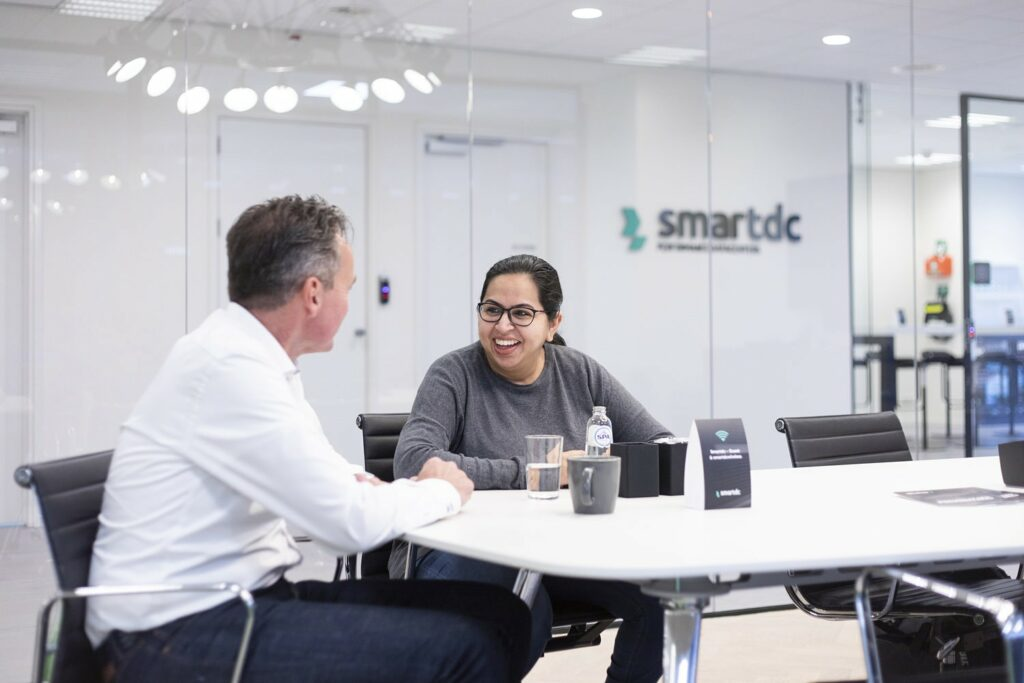 Sonia Harjani, Director of Sona Business, visiting Smartdc datacenter